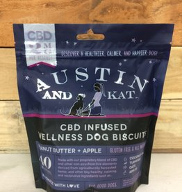 Austin & Kat AUSTIN AND KAT DOG CBD BISCUITS SMALL BREED 2MG 8.9OZ
