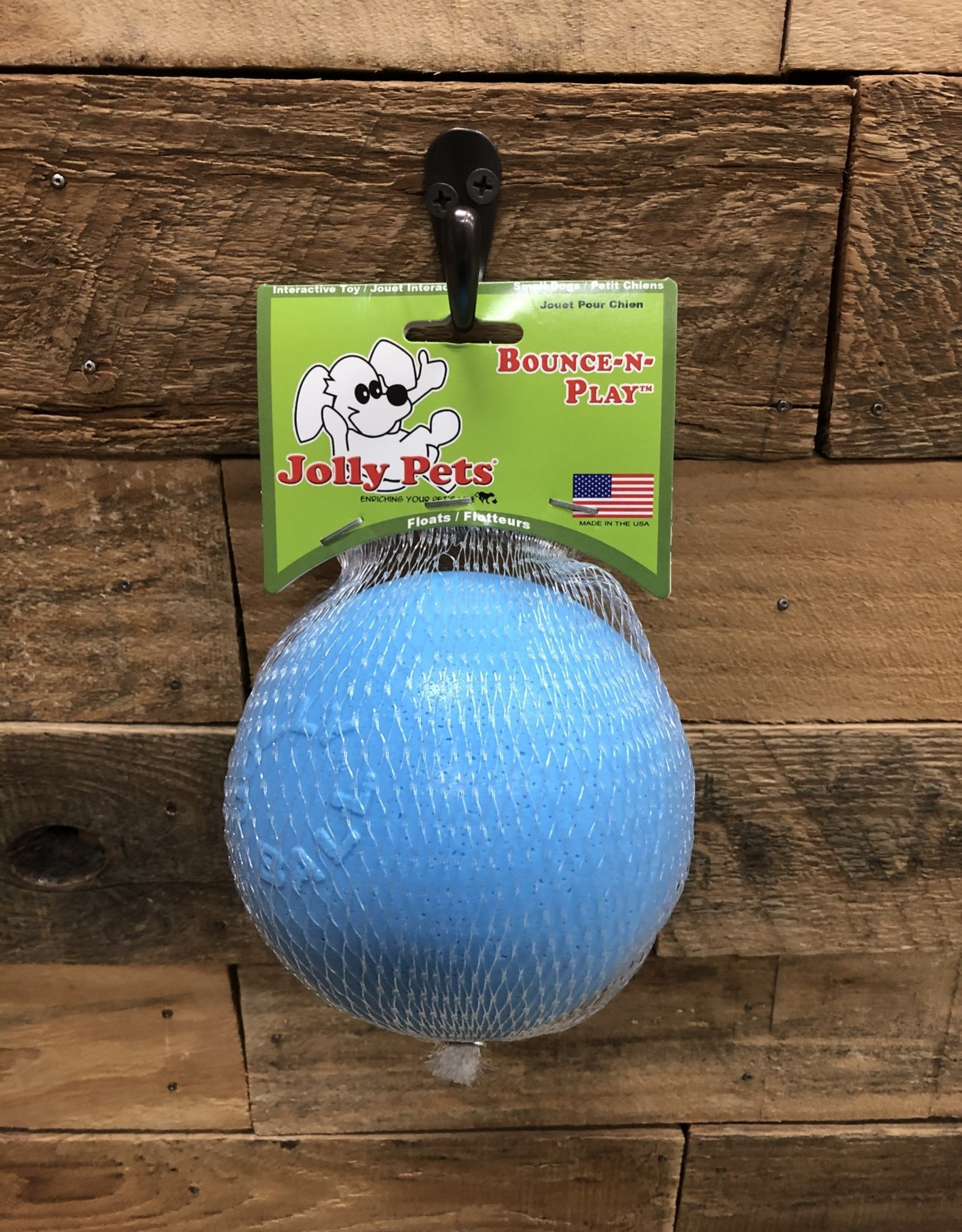 """Jolly Pets Bounce N Play 4.5"""" Blueberry"""