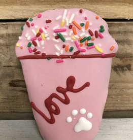 Pawsitively Bakery Dog Cookie Valentine Smoothie