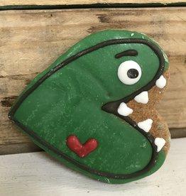 Pawsitively Bakery Dog Cookie Valentinasaurus