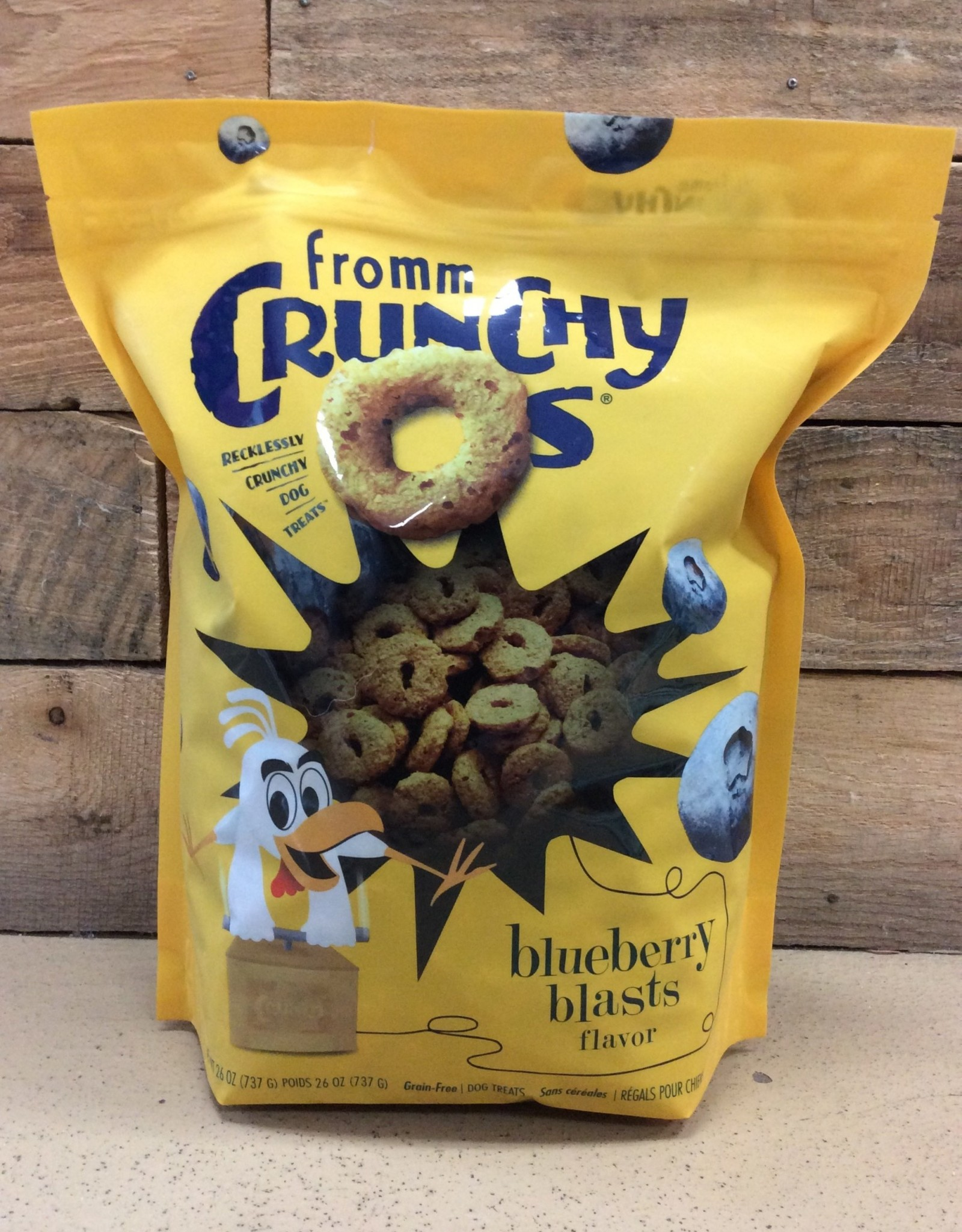 Fromm Family Foods Fromm Crunchys O's Bluberry 26oz
