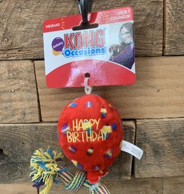 Kong Birthday Balloon Red small