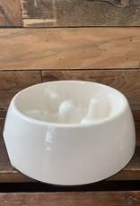 Hagen Dogit Go Slow Anti-Gulping Bowl Med. White