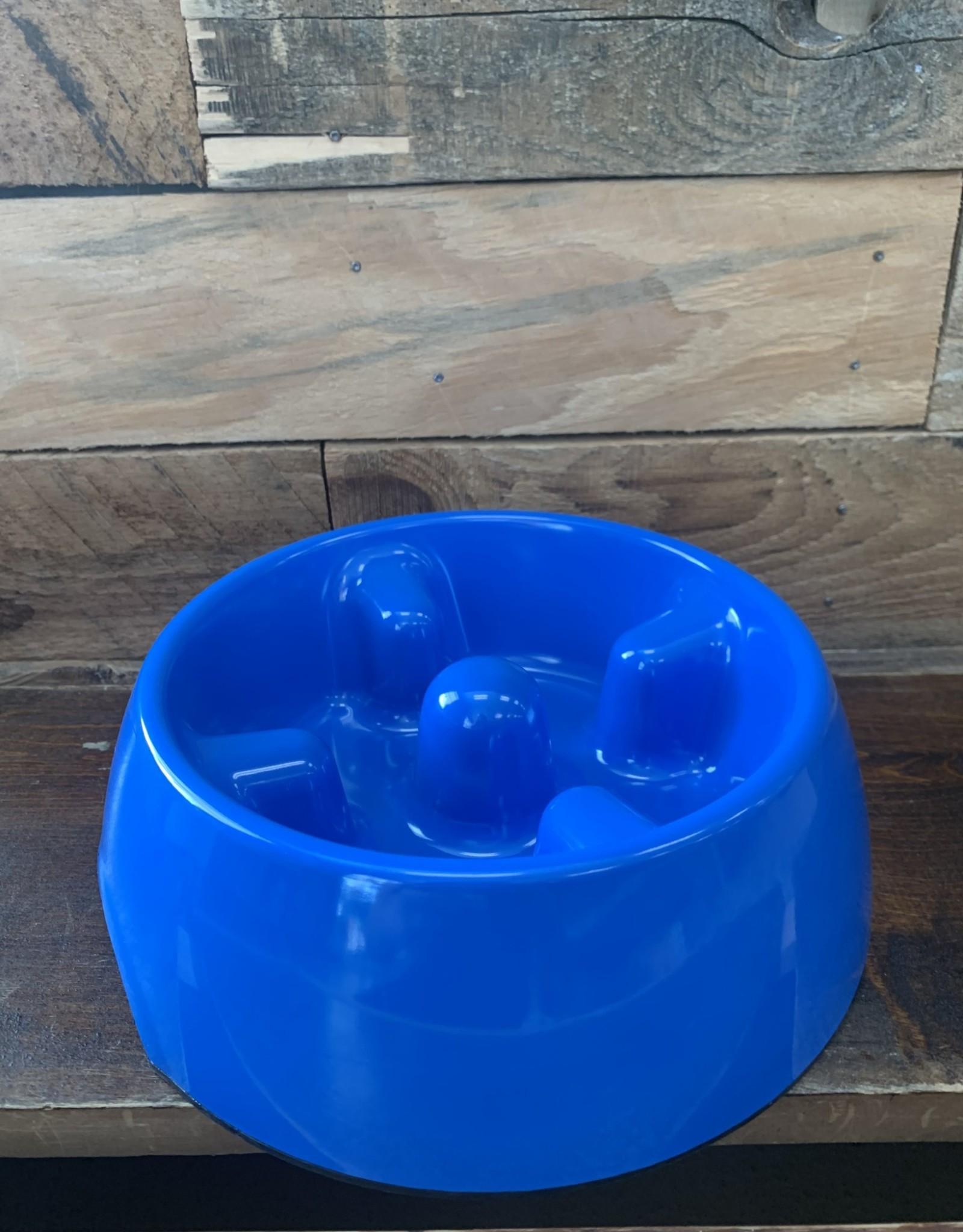 Hagen Dogit Go Slow Anti-Gulping Bowl Med. Blue