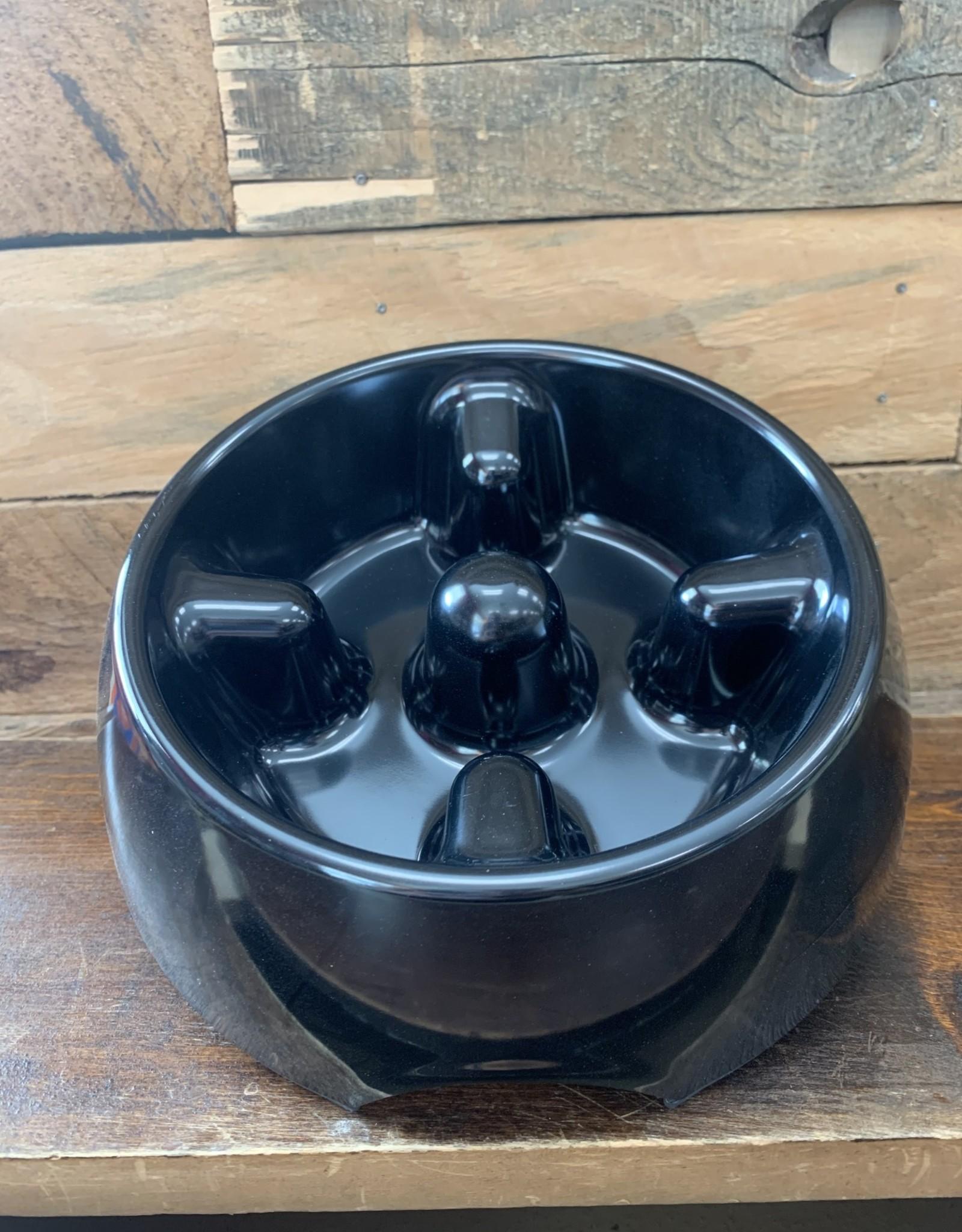 Hagen Dogit Go Slow Anti-Gulping Bowl Med. Black