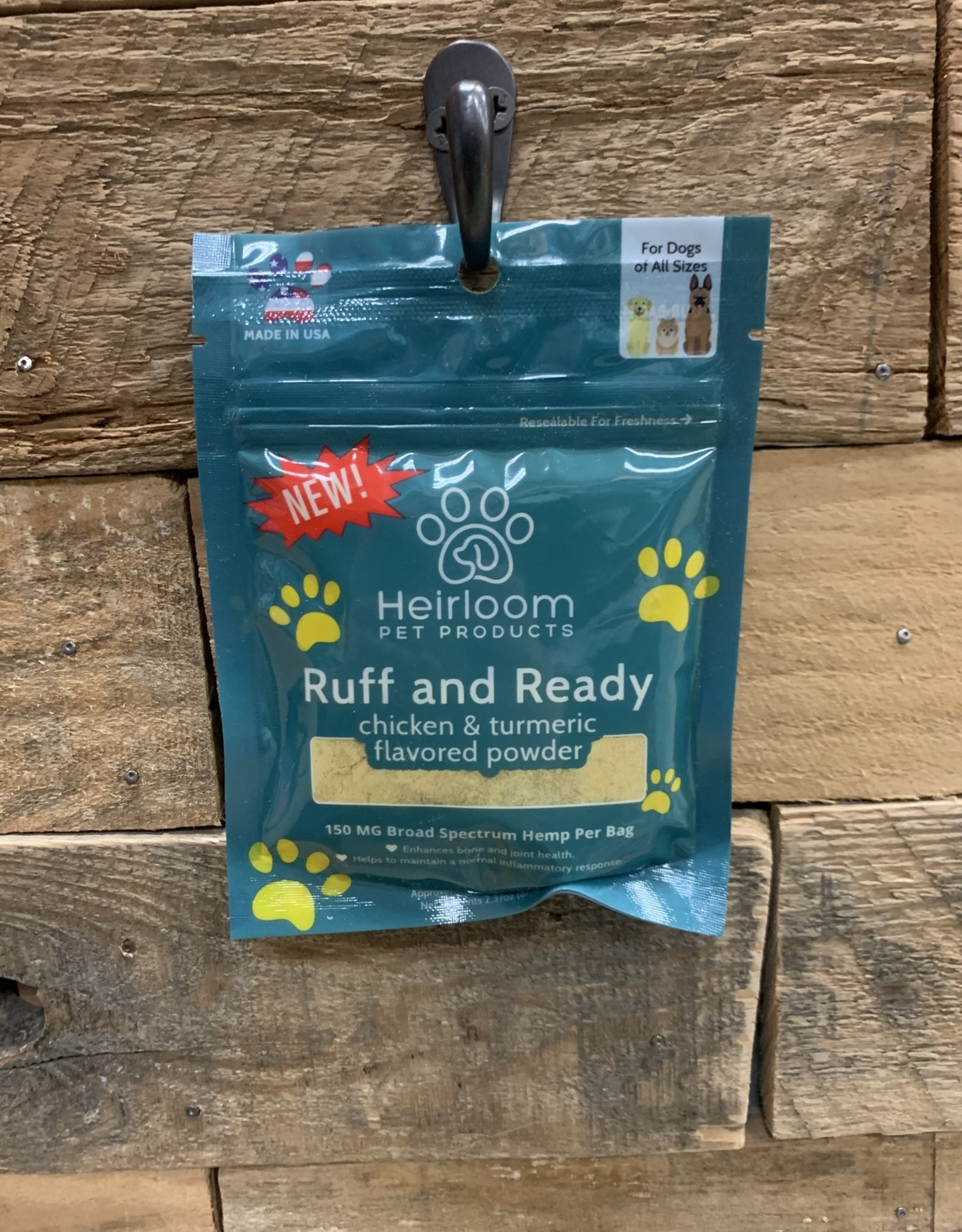 Heirloom Pet CBD Food Topper - Chicken & Turmeric
