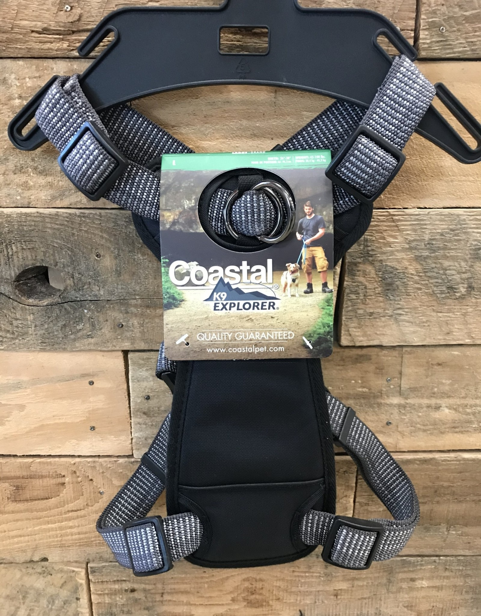 Coastal Pet Products Coastal K9 Explorer Brights Reflective Front Mountain Harnesses