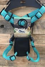 Coastal Pet Products Coastal K9 Explorer Brights Reflective Front Harnesses - Ocean