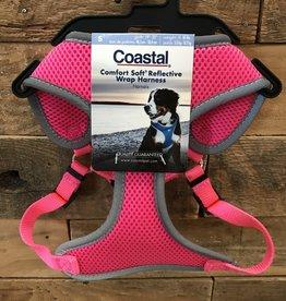 Coastal Pet Products Coastal Soft Reflective Pink Harnesses