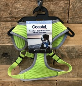 Coastal Pet Products Coastal Soft Reflective Lime Harnesses
