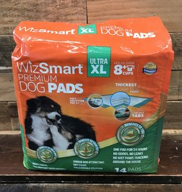 Wizsmart Wizsmart Dog Super Premium Training Pads XL. 14 Pk.