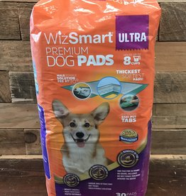 Wizsmart Wizsmart Dog Ultra Premium Puppy Eco Training Pads 30 Pk.