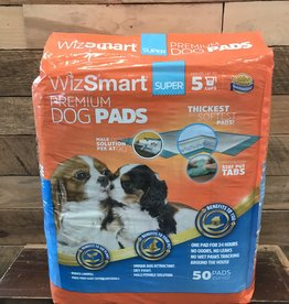 Wizsmart Wizsmart Dog Super Premium Training Pads 50 Pk.