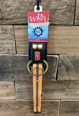 "Wigzi Waterproof Collar 1"" 20-28"" Neon Orange"