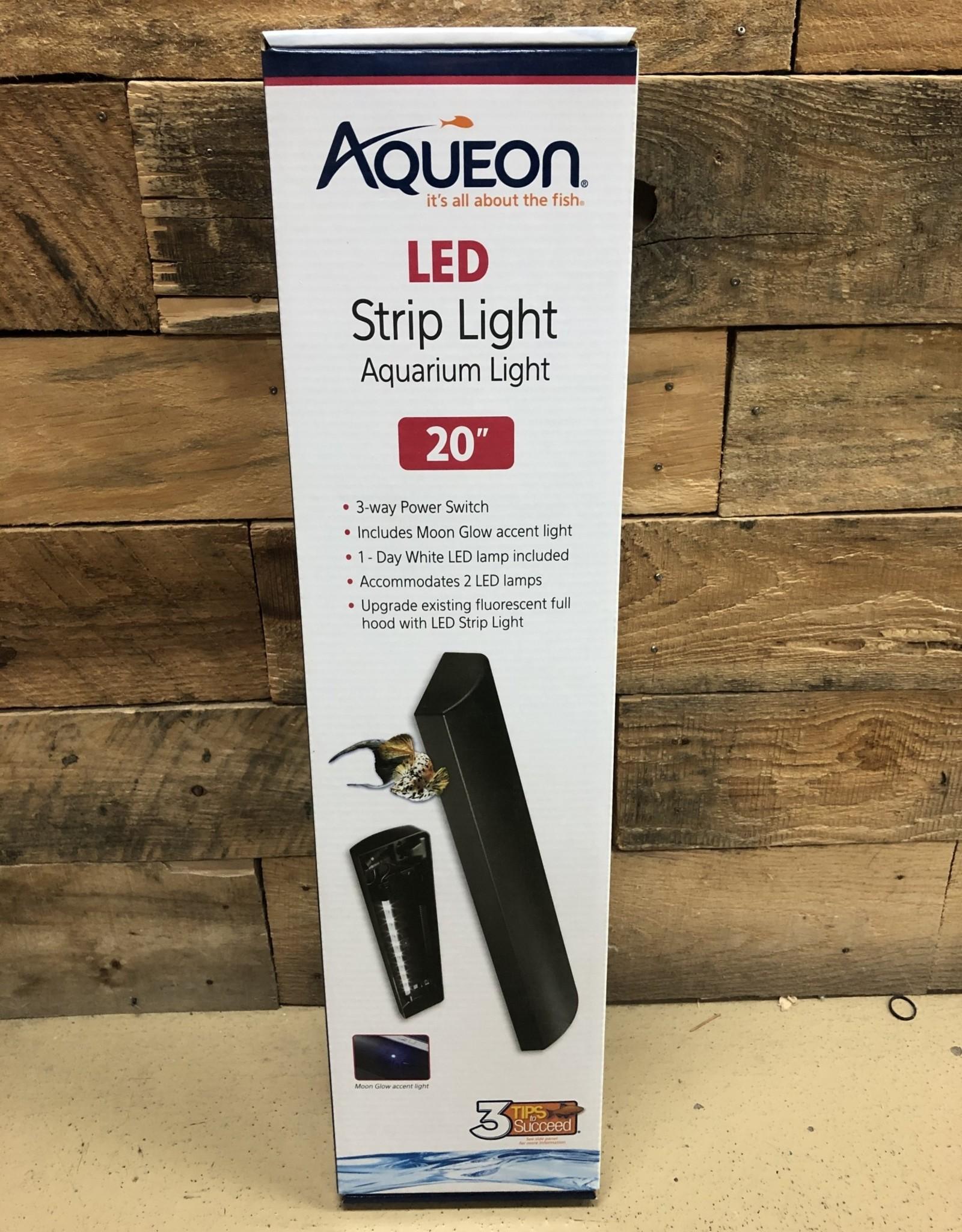 """Aqueon Aqueon LED Strip Light - Black 20"""""""