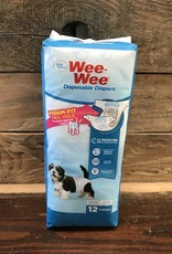 FOUR PAWS  Wee -  Wee Disposable Dog Diapers XS 12 PK.