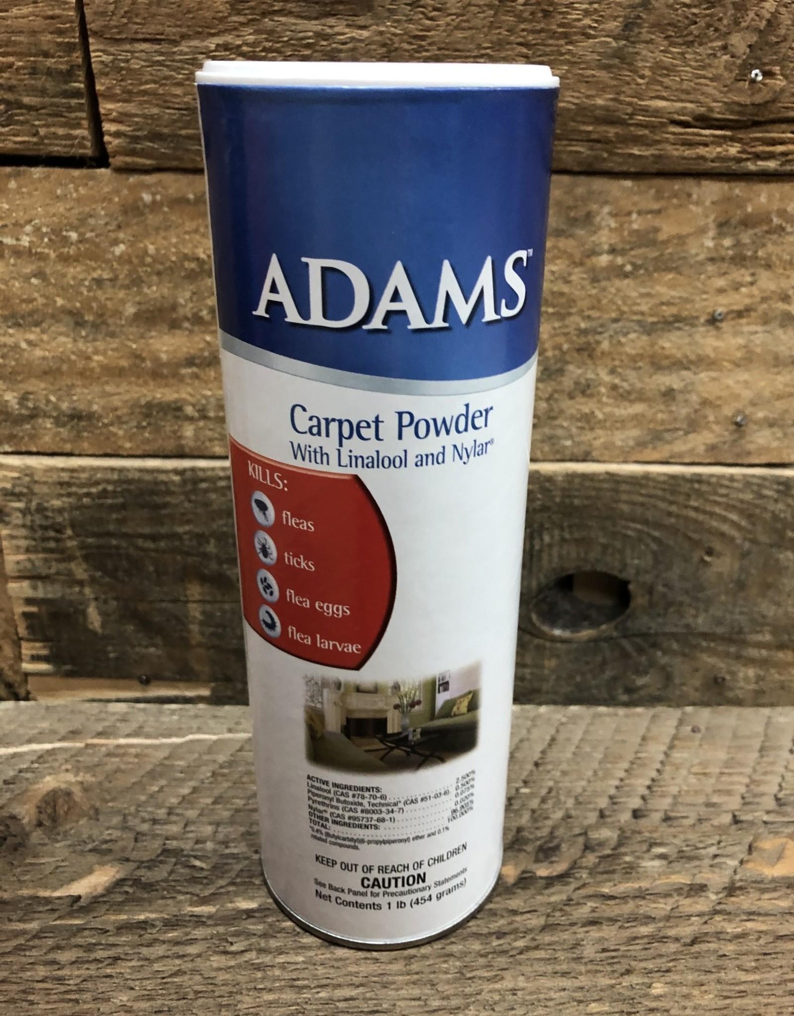 Central Life Sciences- Adams Adams Plus Flea & Tick Carpet Powder 16 oz.