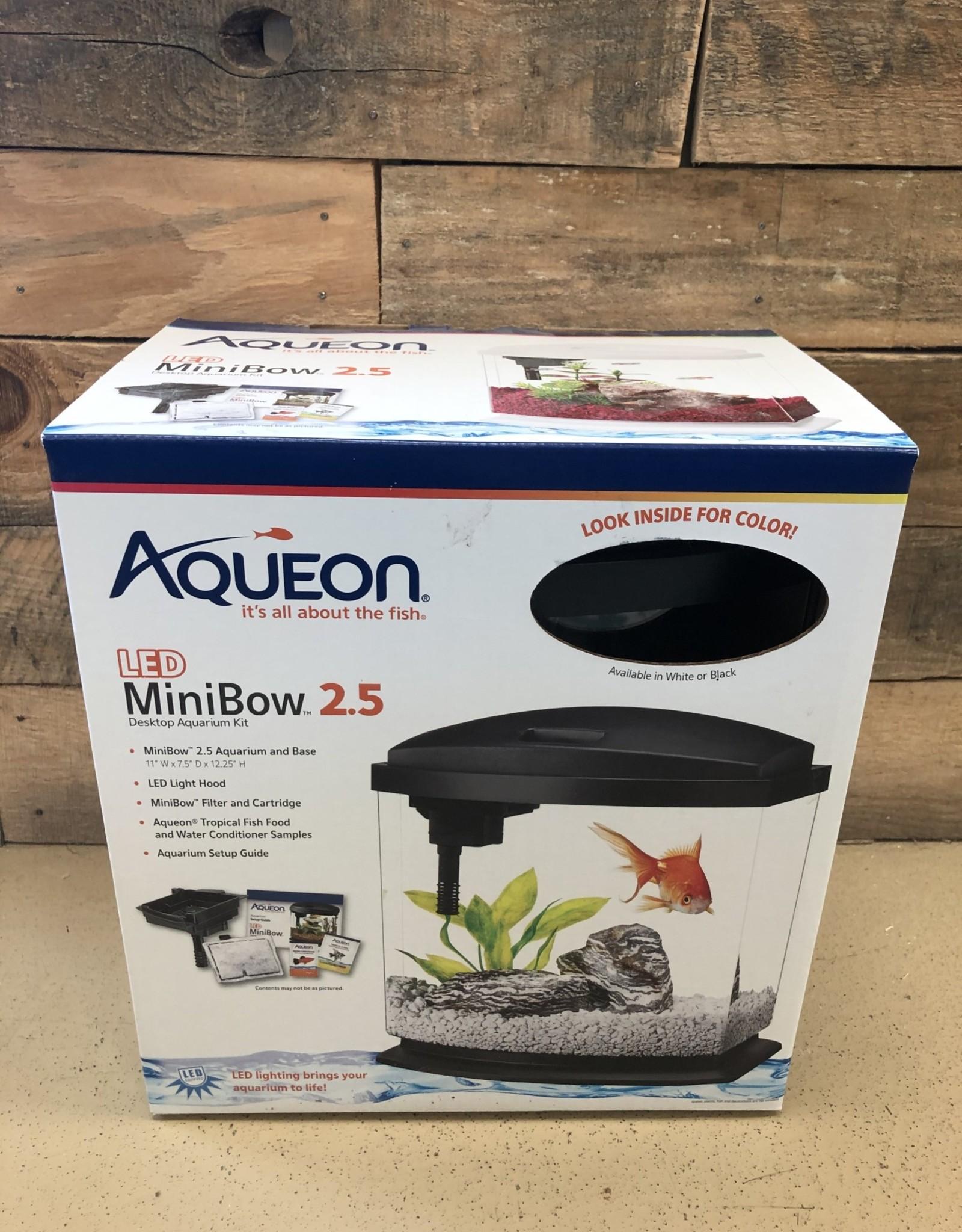 Aqueon Aqueon Smart Clean LED Mini Bow 2.5 Gallon