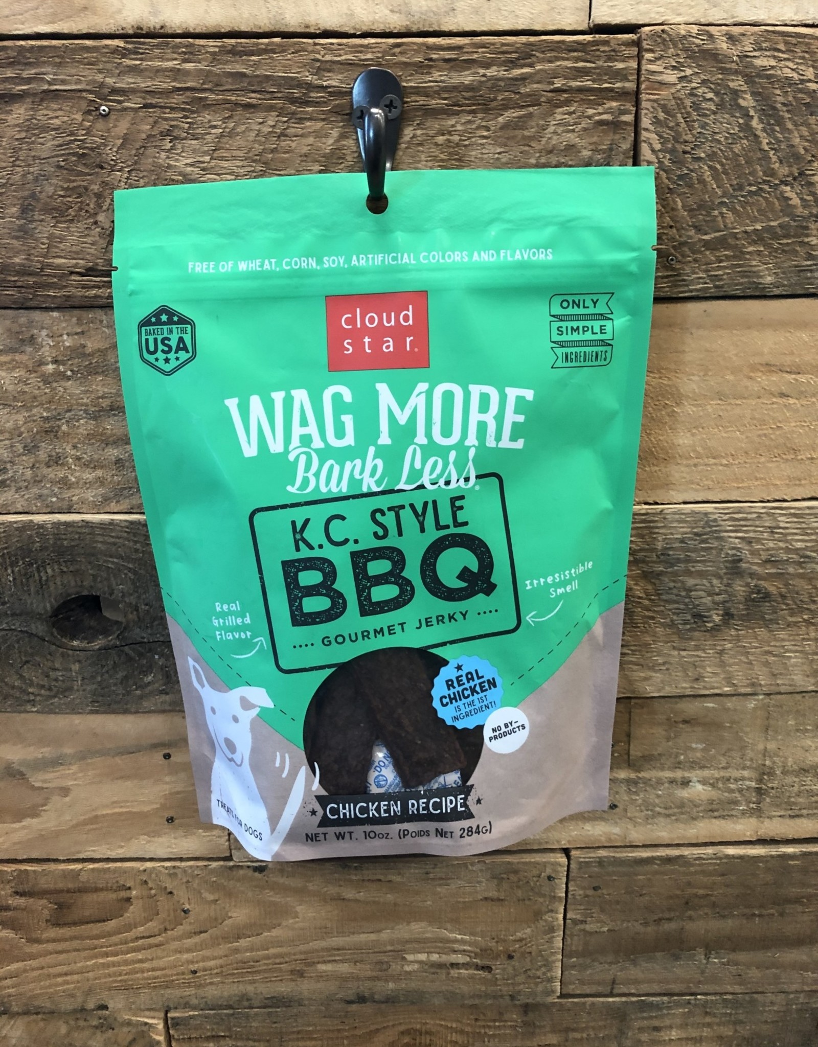 Cloud Star Cloud Star Wag More Kansas City Style BBQ Beef Grilled Jerky 10oz