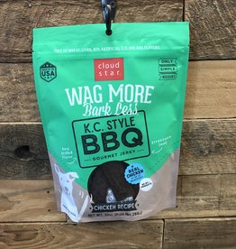 Cloud Star Cloud Star Wag More 10oz Kansas City Style BBQ Beef Grilled Jerky