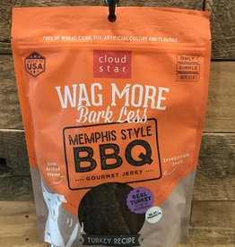 Cloud Star Cloud Star Wag More 10oz Memphis Style BBQ Beef Grilled Jerky10oz.