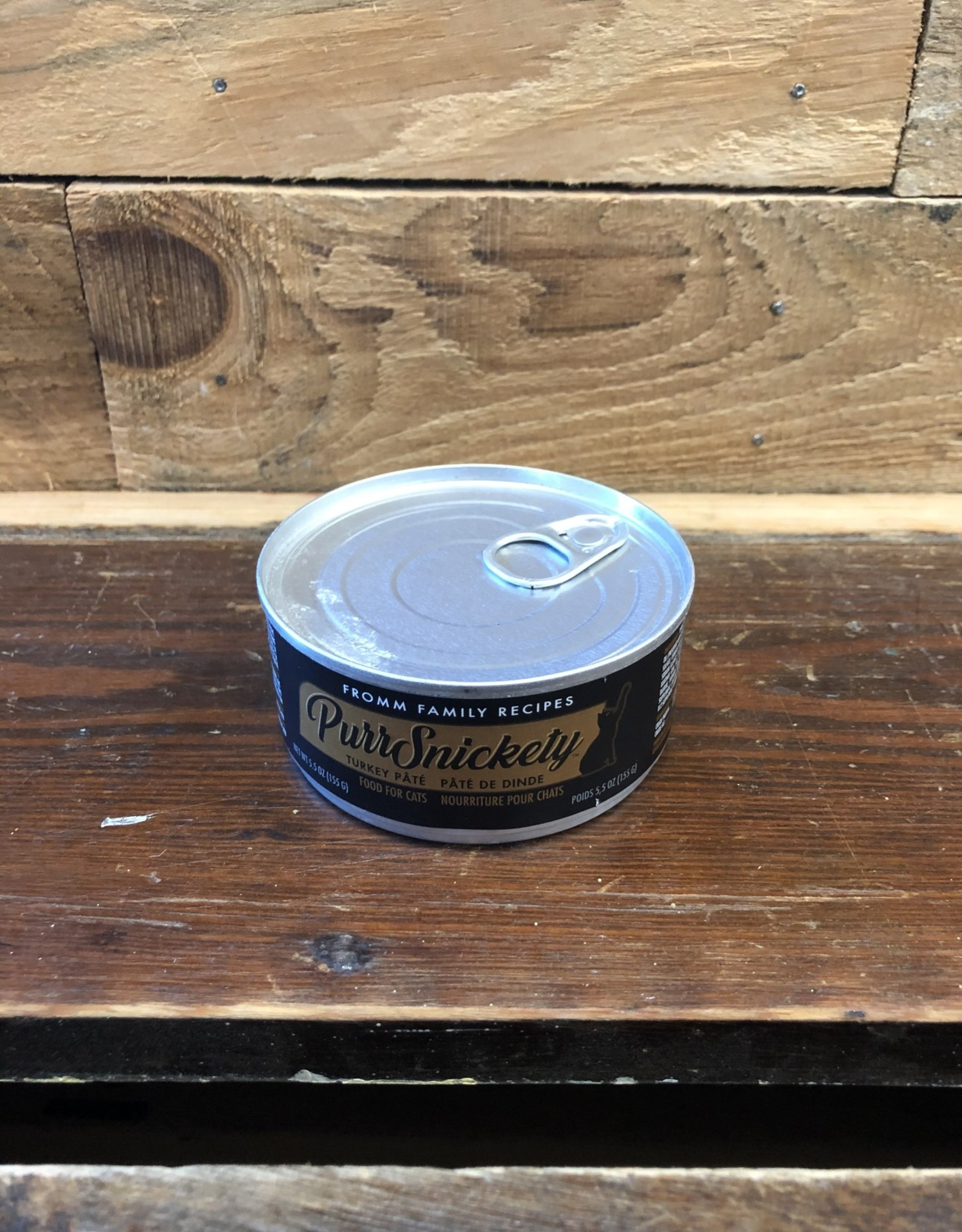 Fromm Family Foods Fromm PurrSnickety Turkey Pate cat 5.5oz