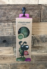 Earth Rated bio (8x13) scented poop bags 300