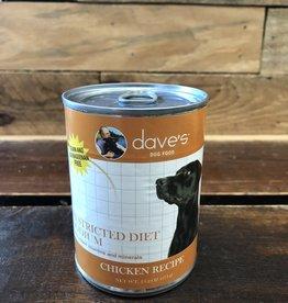 Daves Pet Food Daves Restricted Diet Sodium Dog 13oz