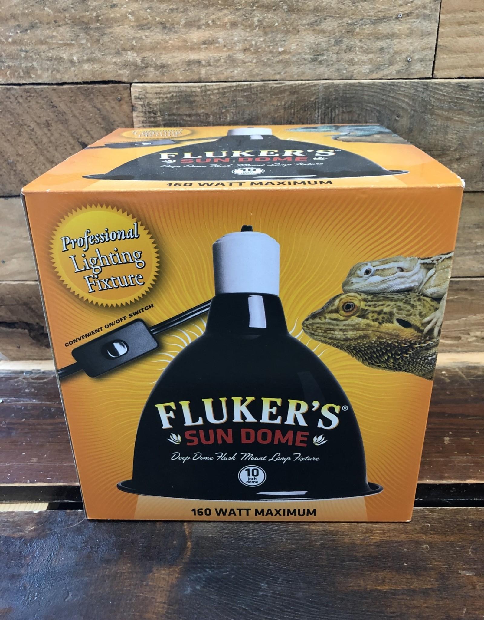 FLUKER FARMS 10 IN. DEEP DOME LAMP FIXTURE