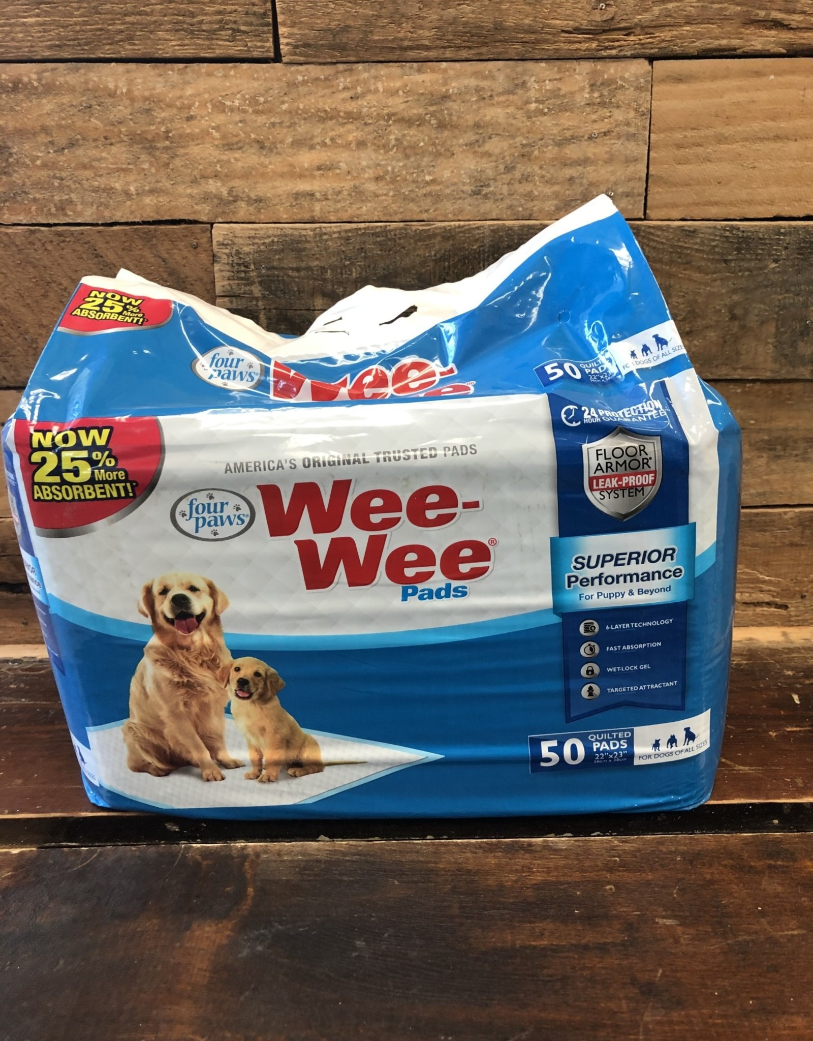 FOUR PAWS WEE-WEE PADS 50PK