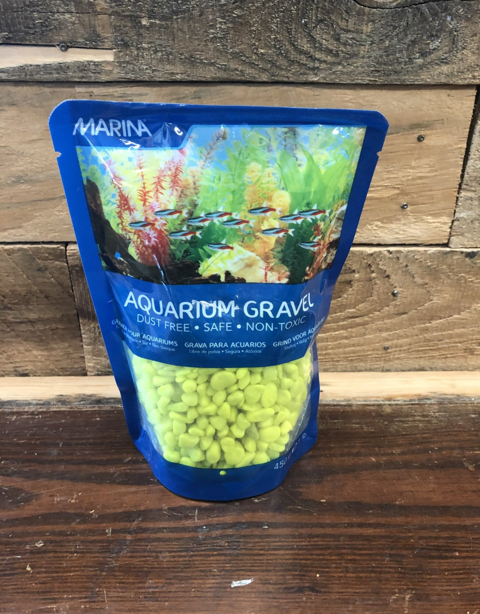 Hagen Marina Decorative Gravel, 1 lb, Lime