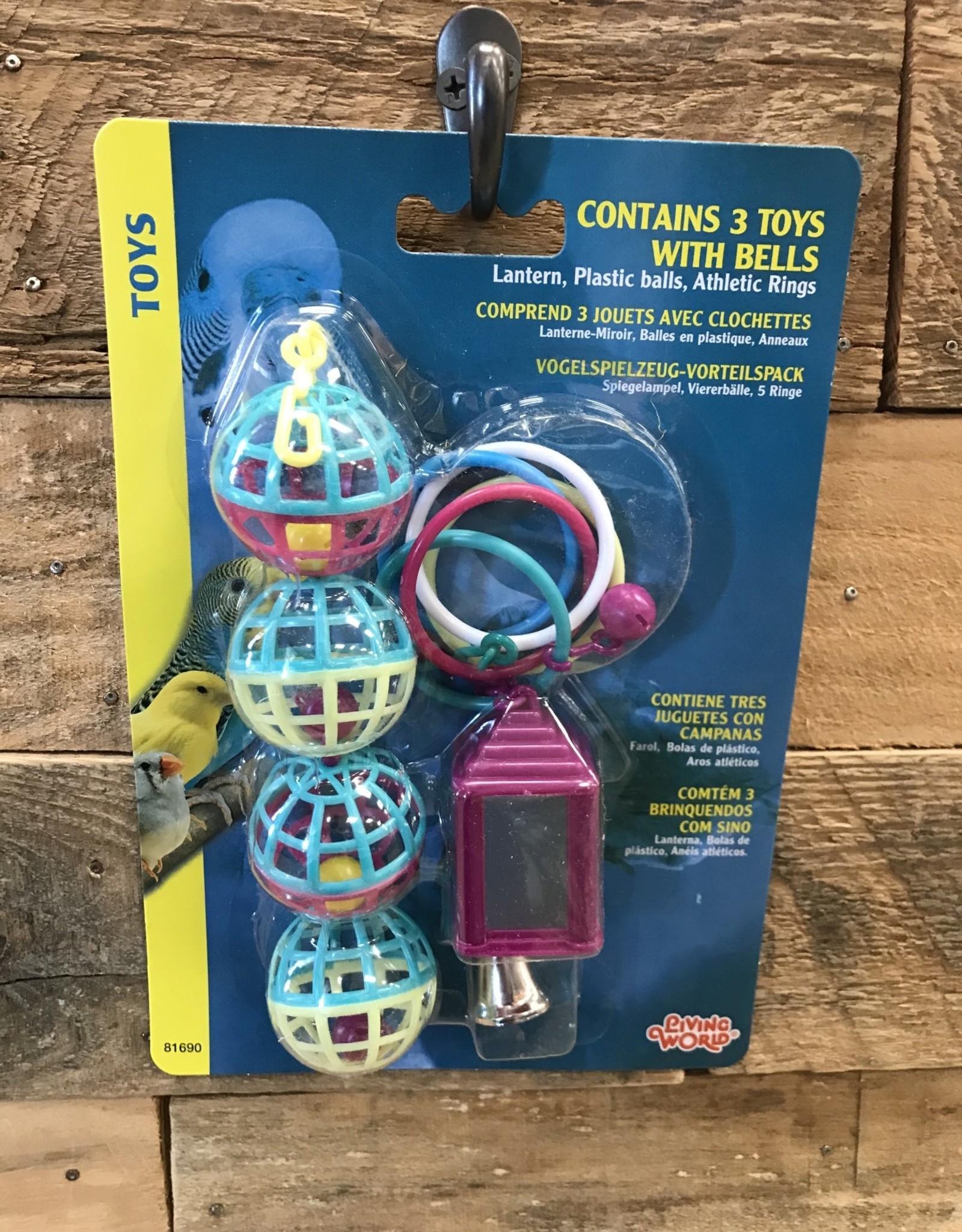 Living World Living World Bird Value Pack 3 Toy Assortment