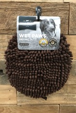 Tall Tails Dog Wet Paw Dry Mit Brown