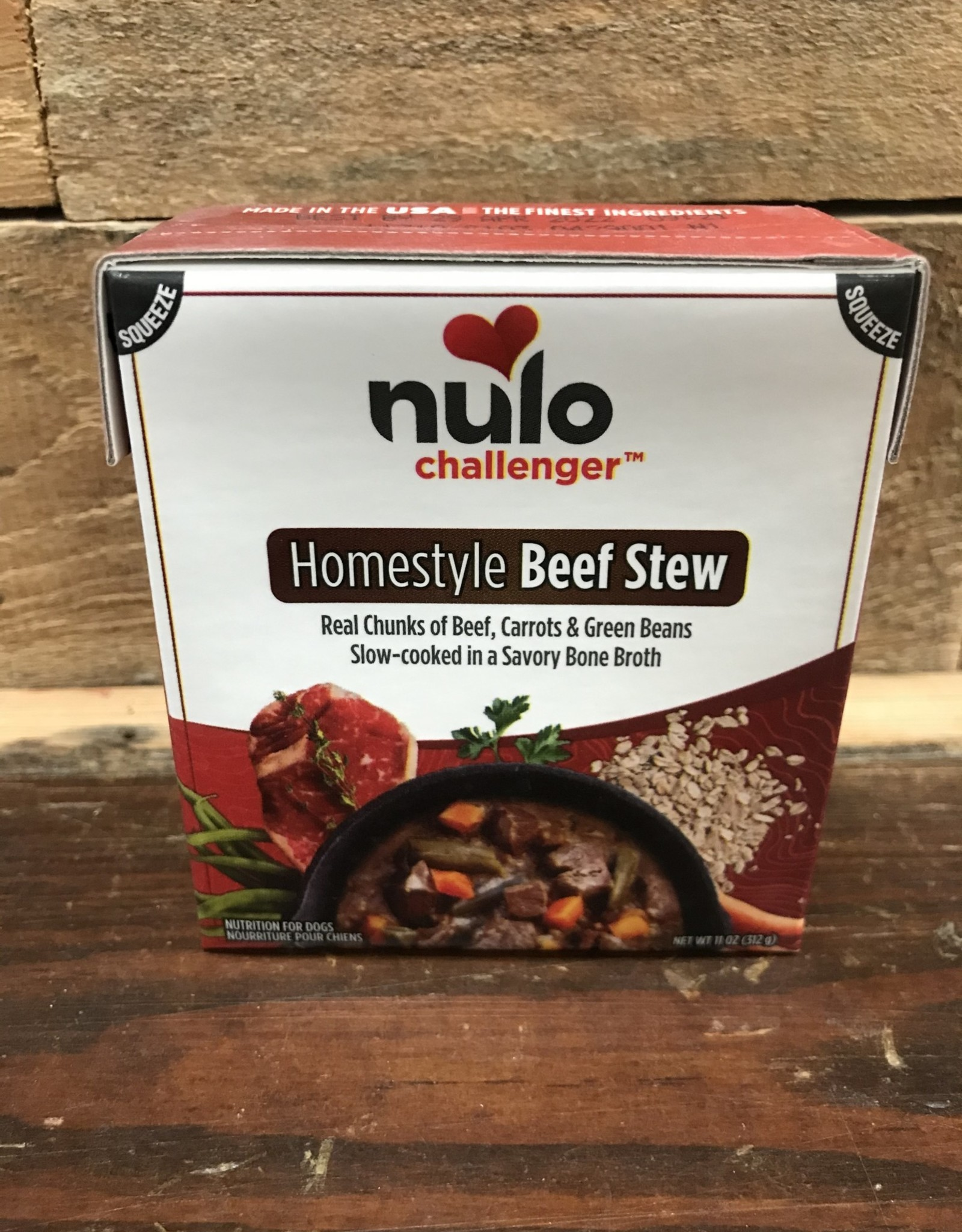 Nulo Nulo Challenger 11oz Harvest Beef Stew