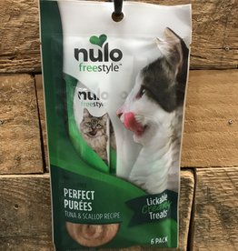 Nulo Nulo Freestyle Cat Perfect Puree GF Tuna & Scallop 6/.5oz.