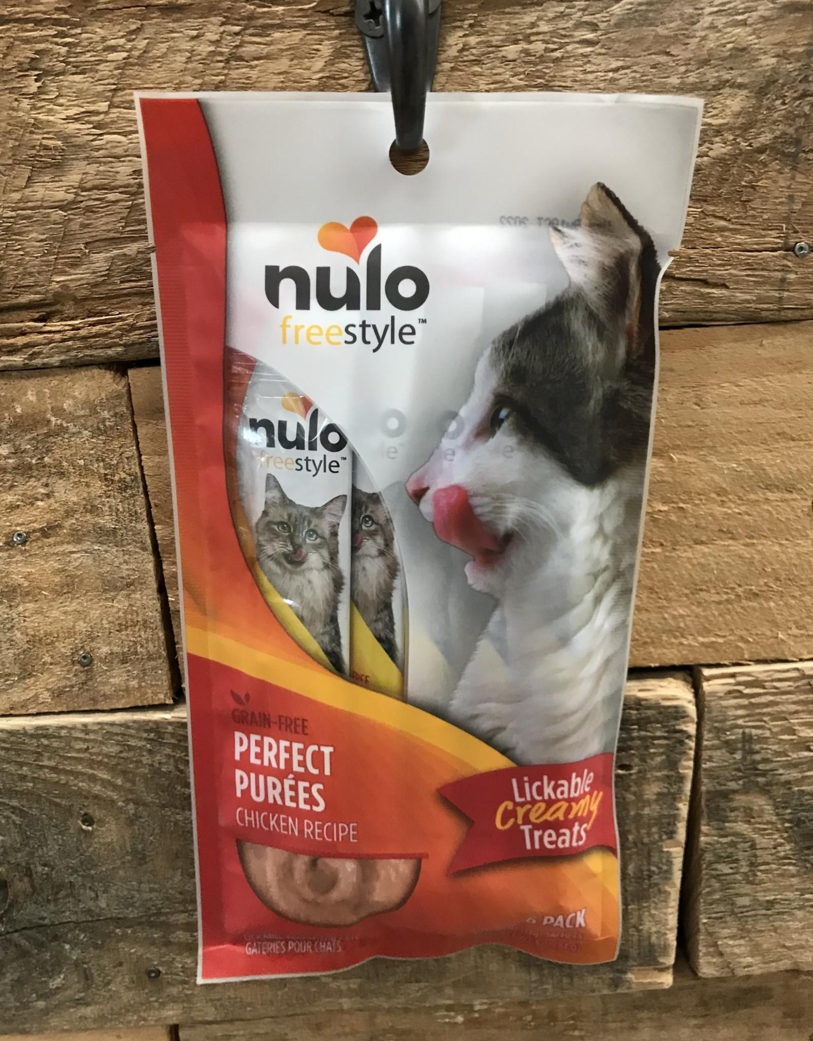 Nulo Nulo Freestyle Cat Perfect Puree GF Chicken 6/.5oz.