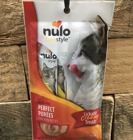 Nulo Nulo Freestyle Cat Perfect Puree GF Chicken 6/.5oz.