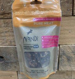 Nandi Nandi Venison Pure Meat 3.5 oz.