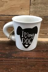 Ore Pet Ore' Pet Cuppa This Mug - I Love My Dog