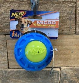 NERF Nerf Dog Micro Squeak ExoBall Med