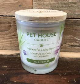 One Fur All One Fur All Candle Glass Jar-Lemongrass 8.5oz