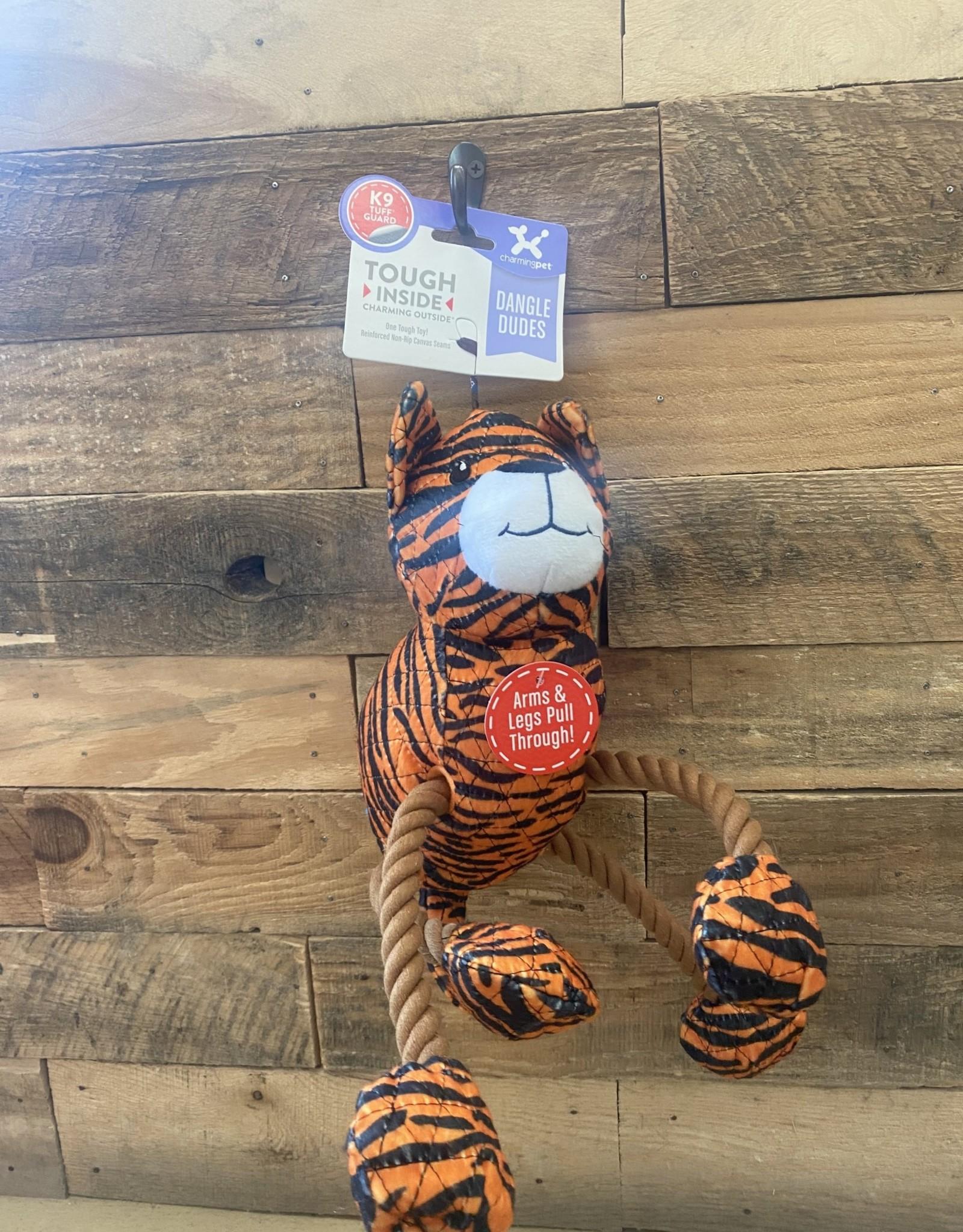 Charming Pet Charming Pet Dangle Dudes Tiger Medium