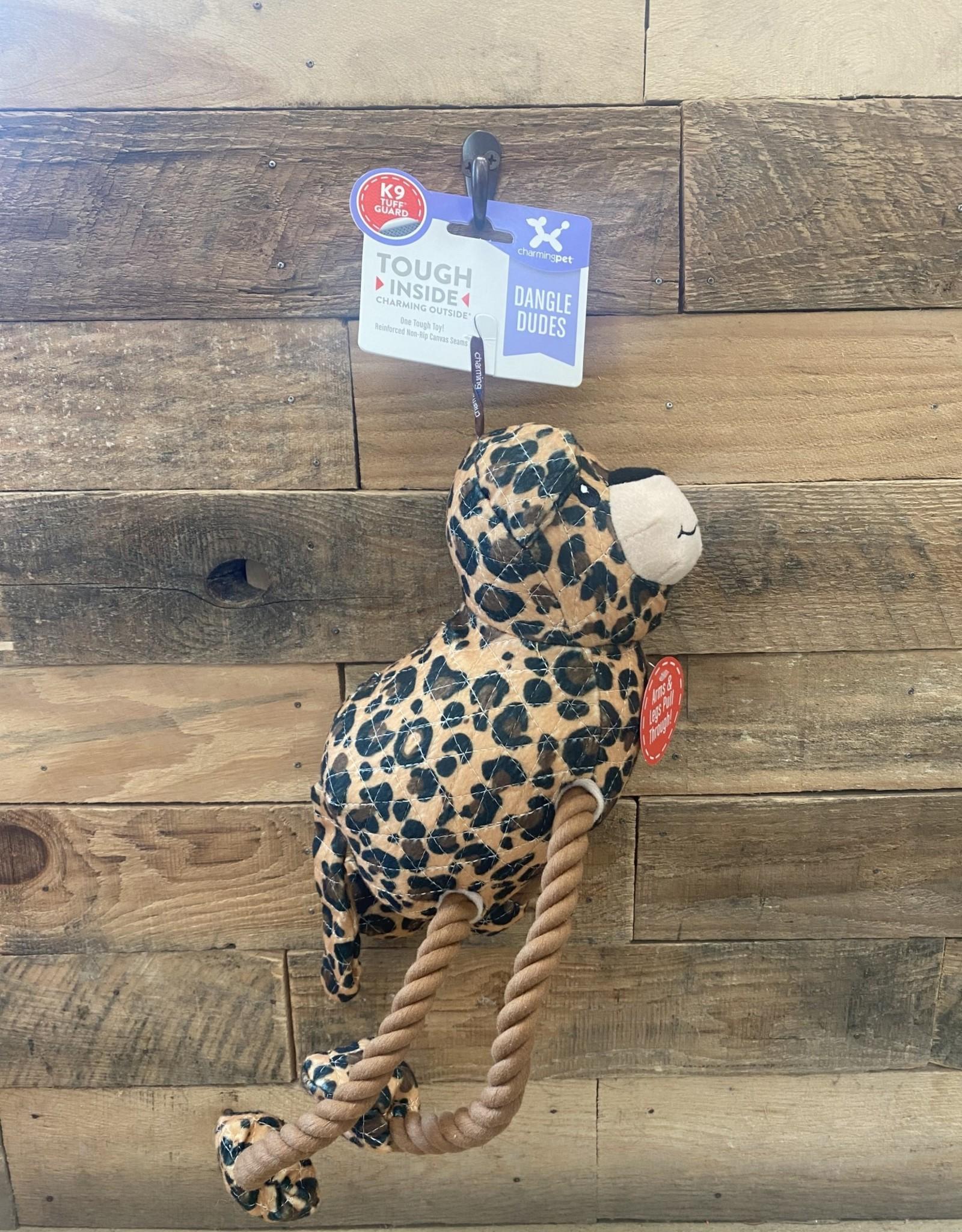 Charming Pet Charming Pet Dangle Dudes Leopard Medium
