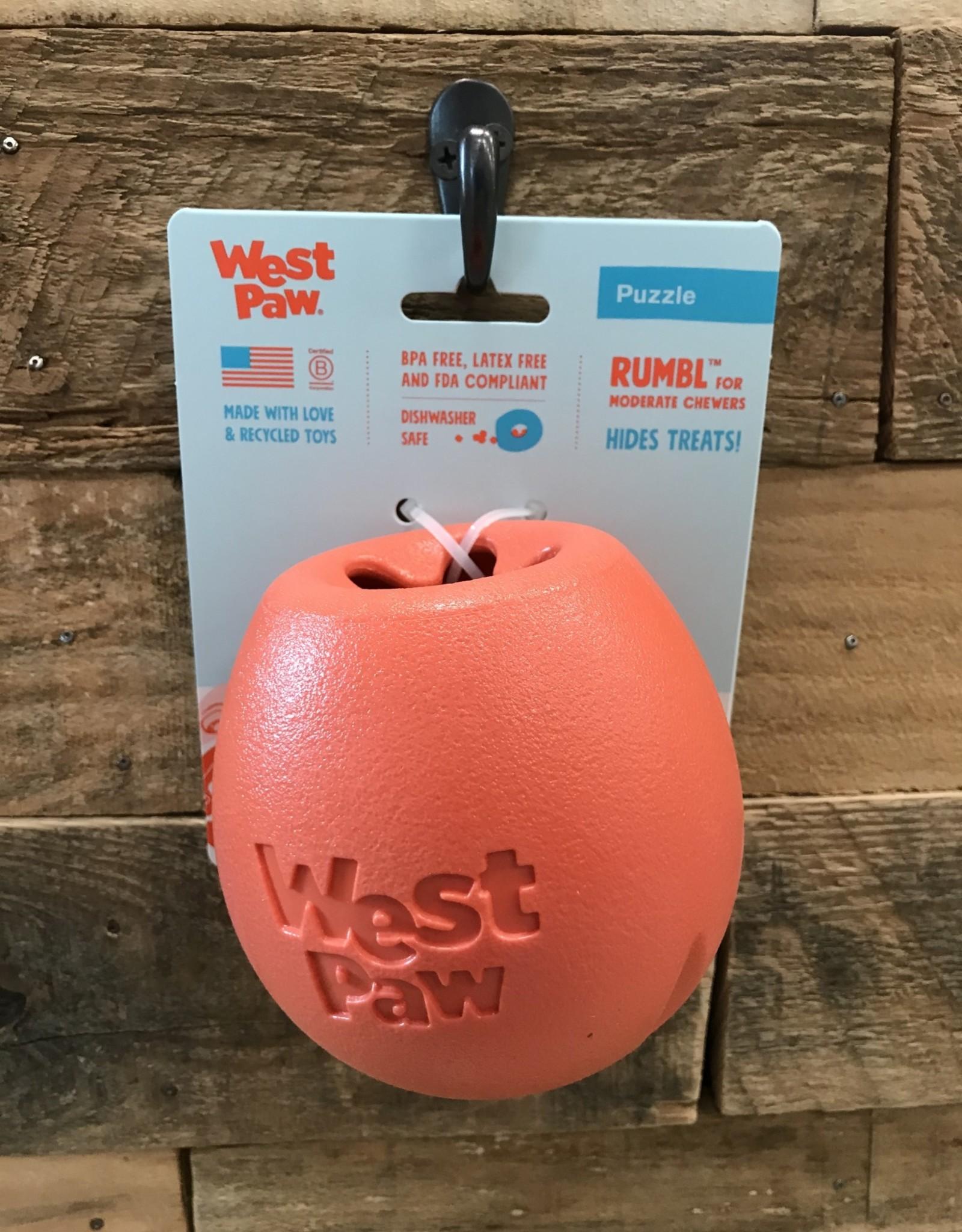 West Paw Rumbl Large Orange