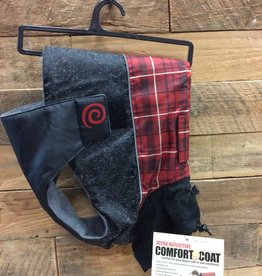 Ultra Paws comfort coat red plaid xxs