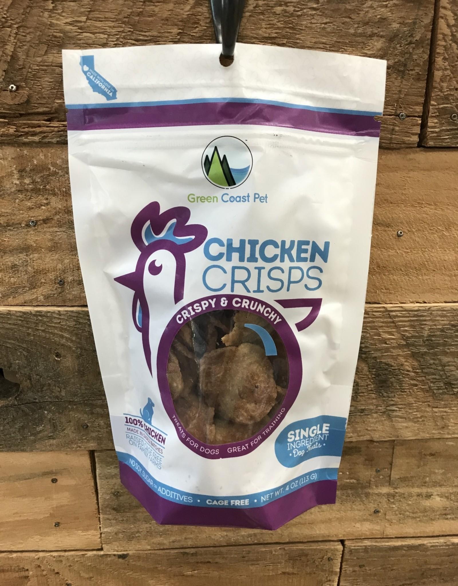 Green Coast Chicken Crisps 4oz