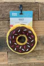 Zippy Paws Donut Chocolate Med