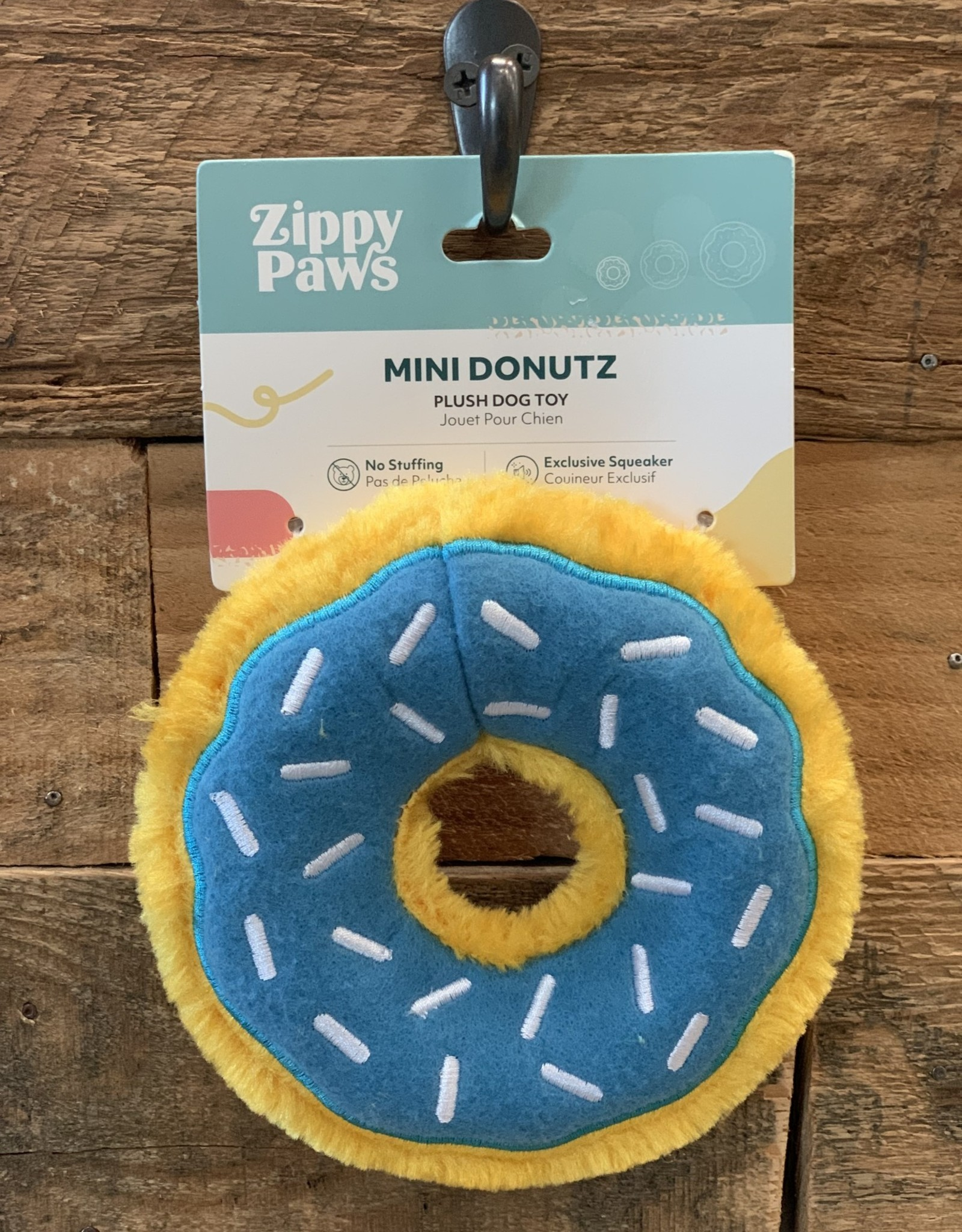 Zippy Paws Donut Blueberry XL