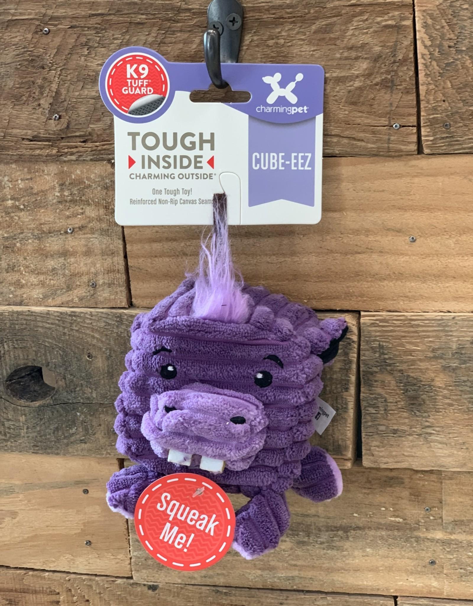 Charming Pet Charming Pet Cube-eez Hippo - Medium