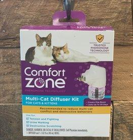 COMFORT ZONE Comfort Zone Cat Multicat Diffuser Kit